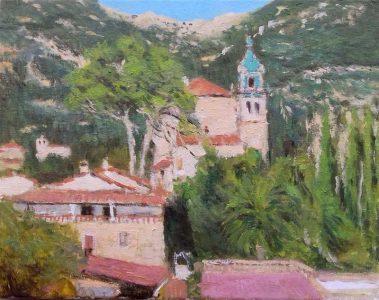 Paisaje de Valldemossa, Mallorca.