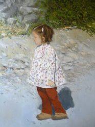 Retrato al oleo de jimena