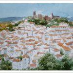 Paisaje de Casares, Málaga