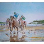 Derby en la playa de Loredo