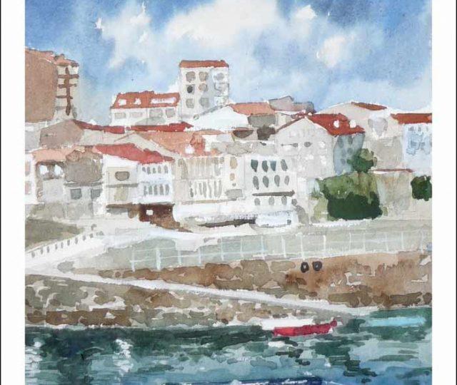 Acuarela de Finisterre, A Coruña