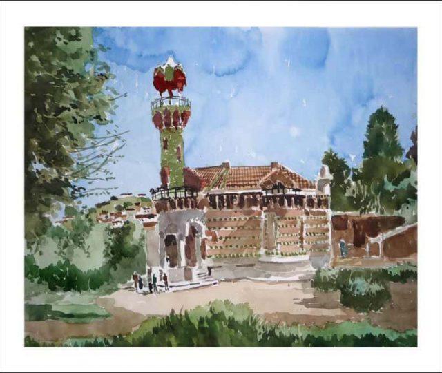 El capricho de Gaudí, Comillas