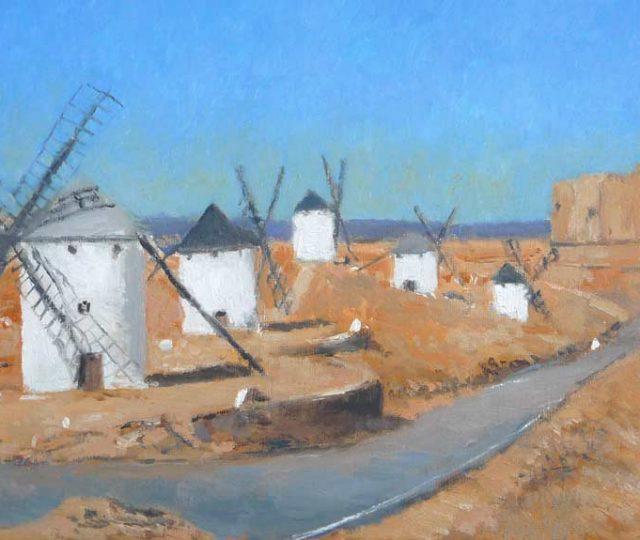Oleo de los molinos de Consuegra