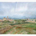 Paisaje de la ciudad de Segovia