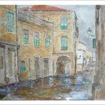 Cuadro de Santiago de Compostela