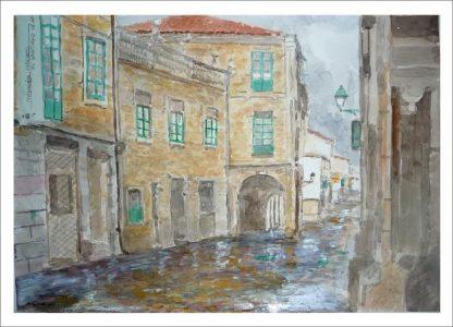 Rúa do Vilar,  Santiago de Compostela