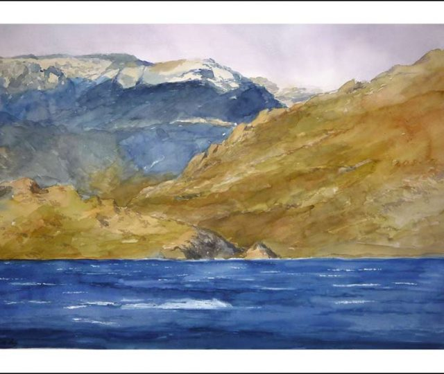 Cuadro del lago de Sanabria