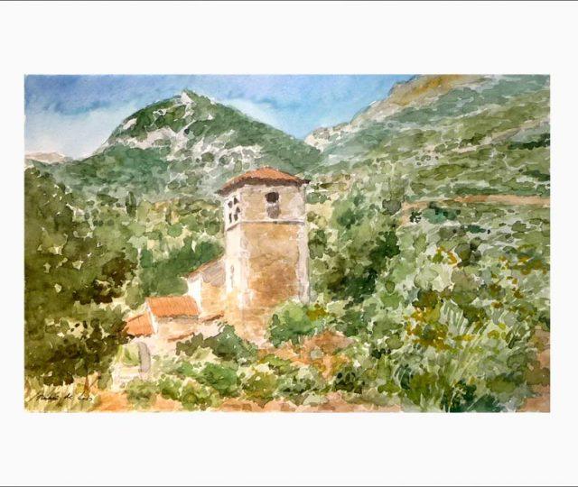 Cuadro de Santa María de Lebeña