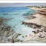 Acuarela de Formentera