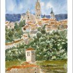 Acuarela de Segovia