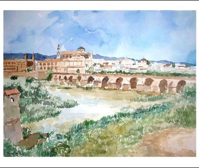 Acuarela de Córdoba