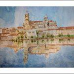 Salamanca, acuarela