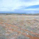 Pintando el paisaje castellano en verano.