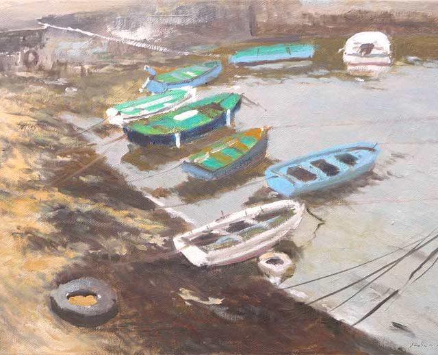 Barcas en Comillas