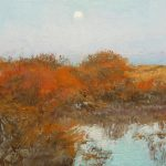 Últimos cuadros que he pintado, paisajes y marinas.