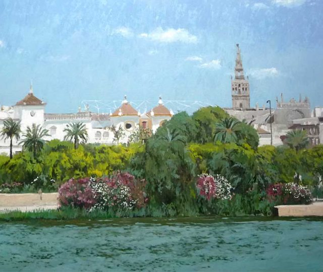 Cuadro al óleo de Sevilla