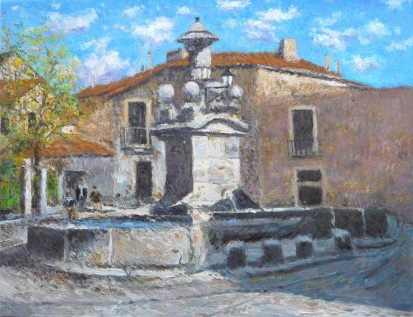 La fuente Nueva, Miraflores de la Sierra, Madrid.