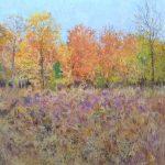 Cuadro de un paisaje de otoño