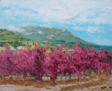 Paisaje de La Rioja en otoño