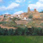 Paisaje de la ciudad de Toro en Zamora