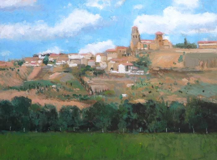 Paisaje de Toro, Zamora.