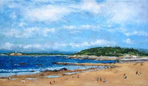 Las playa del Sardinero en verano, Santander