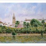 Acuarela de Sevilla