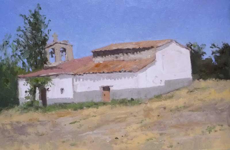 Ermita del Mensegal, Endrinal de la Sierra, Salamanca