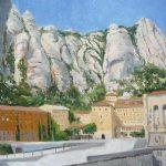 Cuadro al óleo de Montserrat