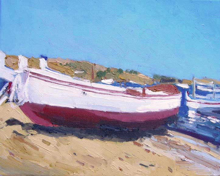 Barcas en Cadaqués