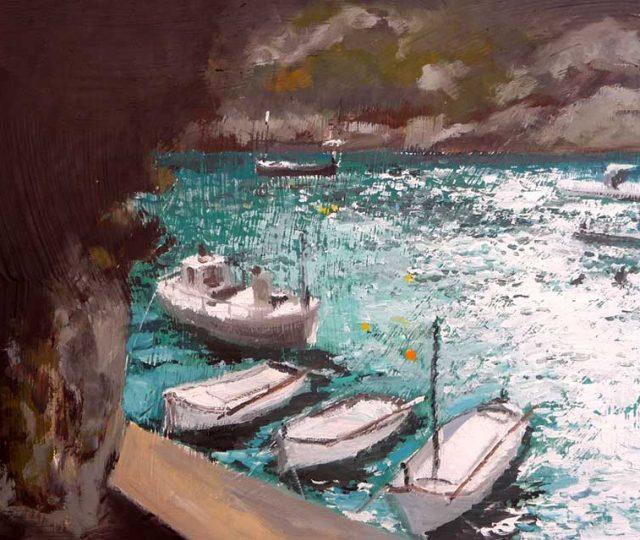 Oleo de la Cala Canutells, Menorca