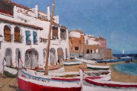 Barcas en Calella de Palafrugell