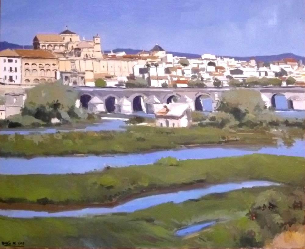 cuadro al óleo de Córdoba