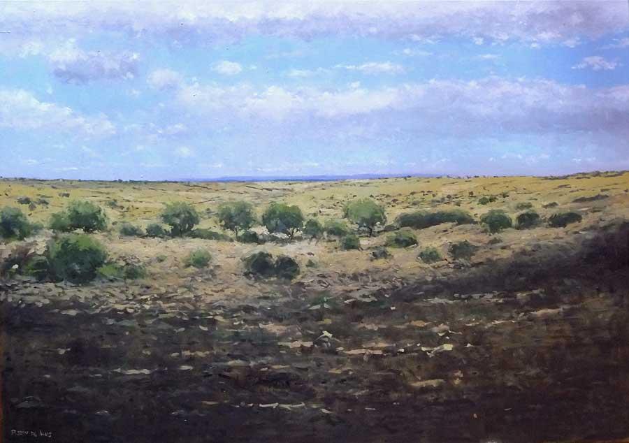 Cuadro de la provincia de Toledo, un paisaje de la zona