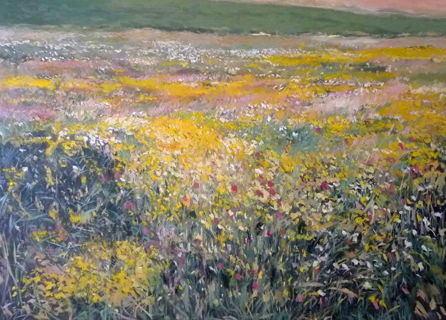 Paisaje de primavera del interior de Andalucía