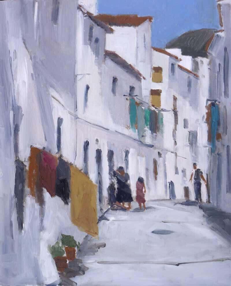 Un pueblo andalúz