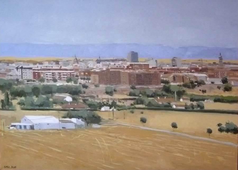 óleo de Ciudad Real