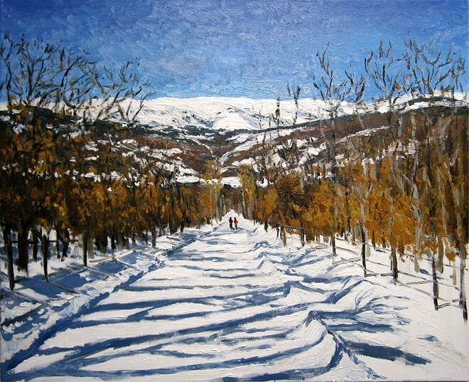 Nieve en Rascafría