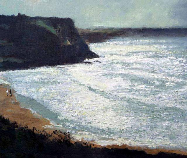 Oleo-playa de Suances,Cantabria