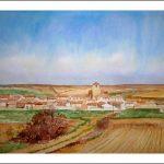 Paisaje de Berrueces en Castilla y León