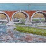 El puente de los franceses, Madrid.