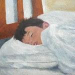 Retrato de un niño durmiendo