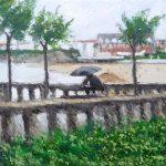 Cuadro de Biarritz