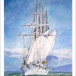 Cuadro del Juan Sebastián Elcano