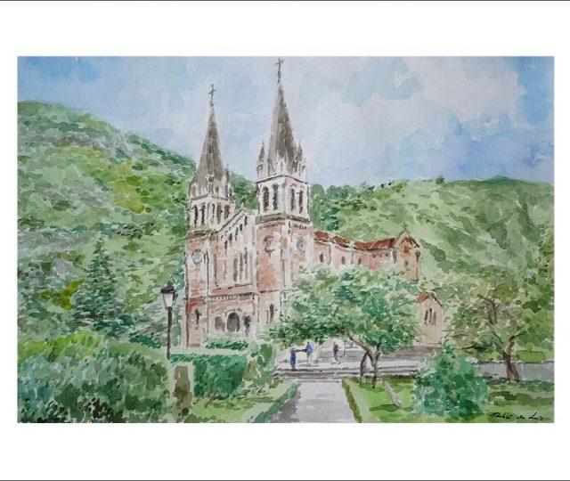 Basílica de Covadonga, Asturias.