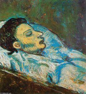 Carlos Casagemas, Pablo Picasso.