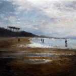 Marina de la playa de Loredo