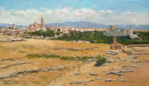 Paisaje de Segovia