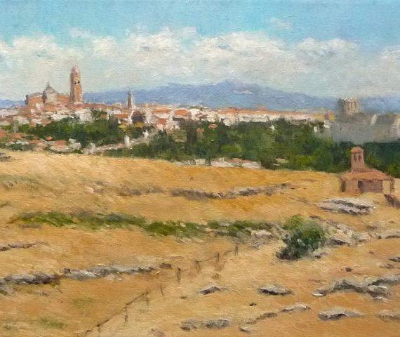 Cuadros al oleo de Castilla y León