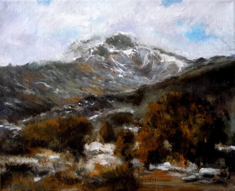 Paisaje de la Sierra de Guadarrama, Madrid